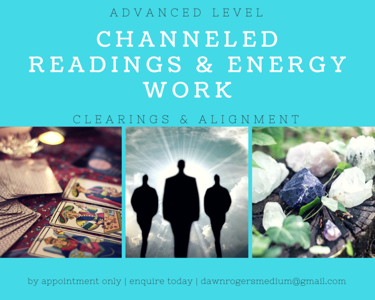 channeled readings & energy work